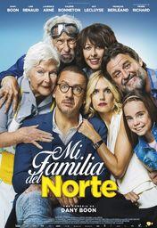 Cartel oficial en español de: Mi familia del norte