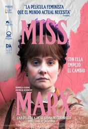 Cartel oficial en español de: Miss Marx