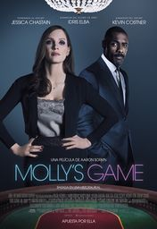 Cartel oficial en español de: Molly's Game