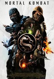 Cartel oficial en español de: Mortal Kombat