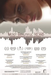 Cartel oficial en español de: Most Beautiful Island
