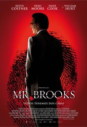 Cartel oficial en español de: Mr. Brooks