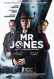 Cartel oficial en español de: Mr. Jones