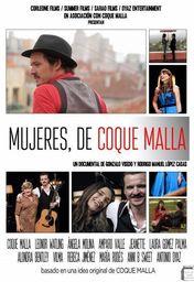 Cartel oficial en español de: Mujeres, de Coque Malla