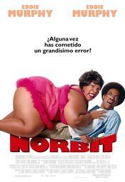 Cartel oficial en español de: Norbit