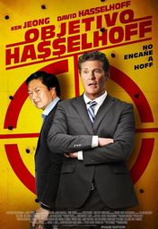 Cartel oficial en español de: Objetivo: Hasselhoff