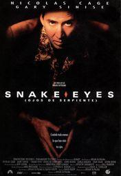 Cartel oficial en español de: Ojos de serpiente