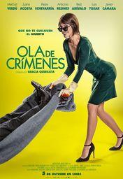 Cartel oficial en español de: Ola de crímenes