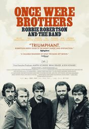 Cartel oficial en español de: Once Were Brothers: la historia de The Band