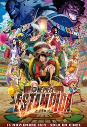 Cartel oficial en español de: One Piece: Estampida