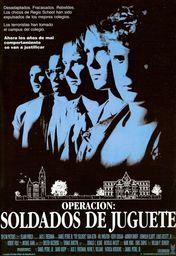 Cartel oficial en español de: Operación: soldados de juguete