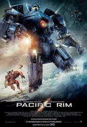 Cartel oficial en español de: Pacific Rim