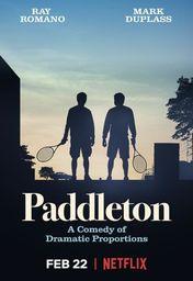 Cartel oficial en español de: Paddleton
