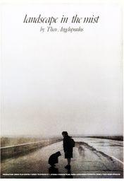Cartel oficial en español de: Paisaje en la niebla