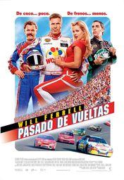 Cartel oficial en español de: Pasado de vueltas
