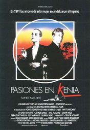 Cartel oficial en español de: Pasiones en Kenia