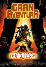 Cartel oficial en español de: Pequeños guerreros