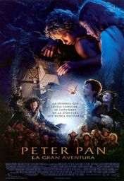 Cartel oficial en español de: Peter Pan, la gran aventura