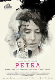 Cartel oficial en español de: Petra