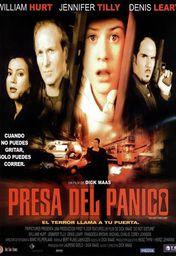 Cartel oficial en español de: Presa del pánico