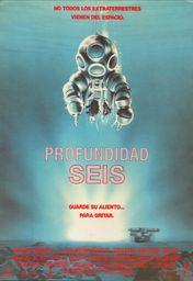 Cartel oficial en español de: Profundidad seis