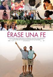 Cartel oficial en español de: Érase una fe