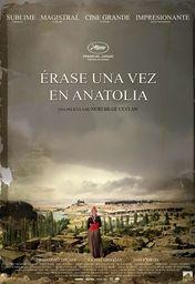 Cartel oficial en español de: Érase una vez en Anatolia