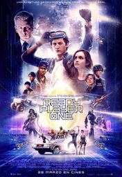 Cartel oficial en español de: Ready Player One