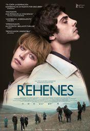 Cartel oficial en español de: Rehenes