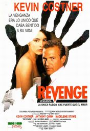 Cartel oficial en español de: Revenge (Venganza)