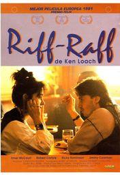 Cartel oficial en español de: Riff-Raff