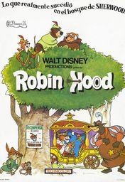 Cartel oficial en español de: Robin Hood