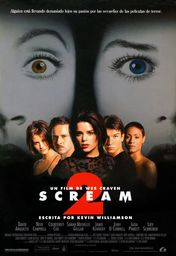 Cartel oficial en español de: Scream 2