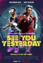 Cartel oficial en español de: See You Yesterday