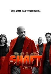Cartel oficial en español de: Shaft