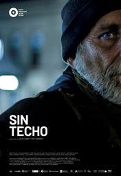 Cartel oficial en español de: Sin techo