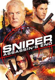 Cartel oficial en español de: Sniper: Assassin's End