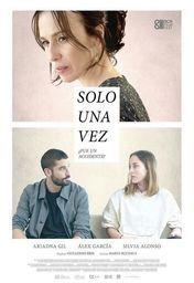 Cartel oficial en español de: Solo una vez