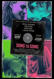 Cartel oficial en español de: Song to Song