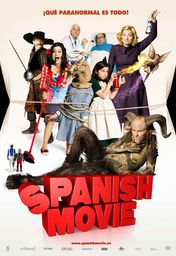 Cartel oficial en español de: Spanish Movie