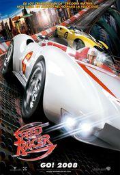 Cartel oficial en español de: Speed Racer