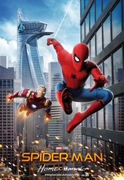 Cartel oficial en español de: Spider-Man: Homecoming