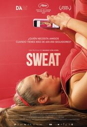 Cartel oficial en español de: Sweat