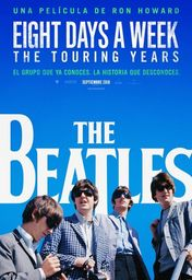 Cartel oficial en español de: The Beatles: Eight Days a Week - The Touring Years