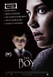 Cartel oficial en español de: The Boy