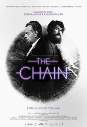 Cartel oficial en español de: The Chain