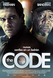 Cartel oficial en español de: The Code