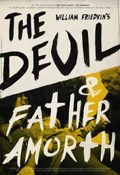 Cartel oficial en español de: The Devil and Father Amorth