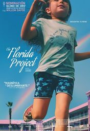 Cartel oficial en español de: The Florida Project