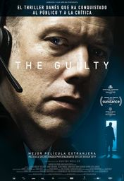Cartel oficial en español de: The Guilty